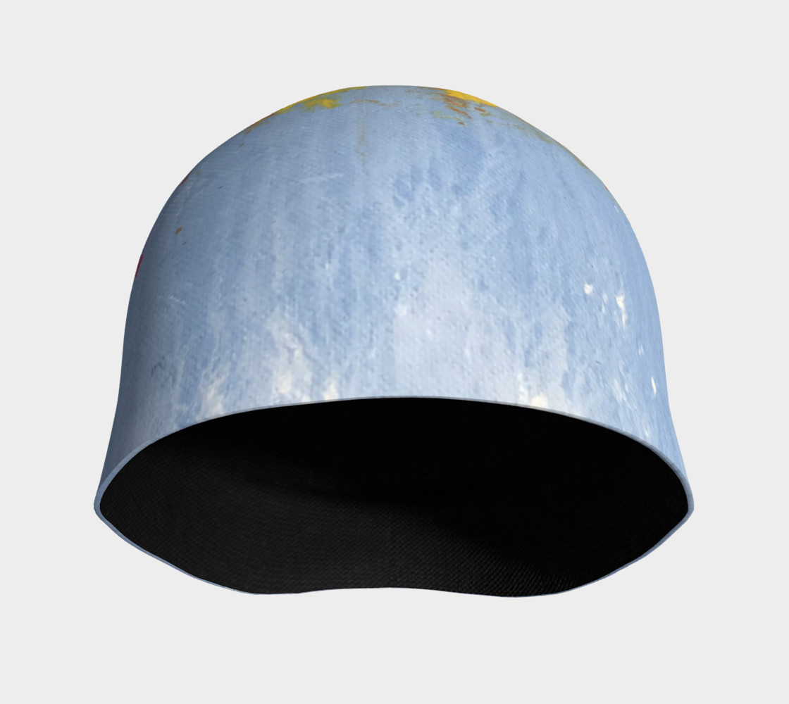 Blue Paint Hat $29 preview #3