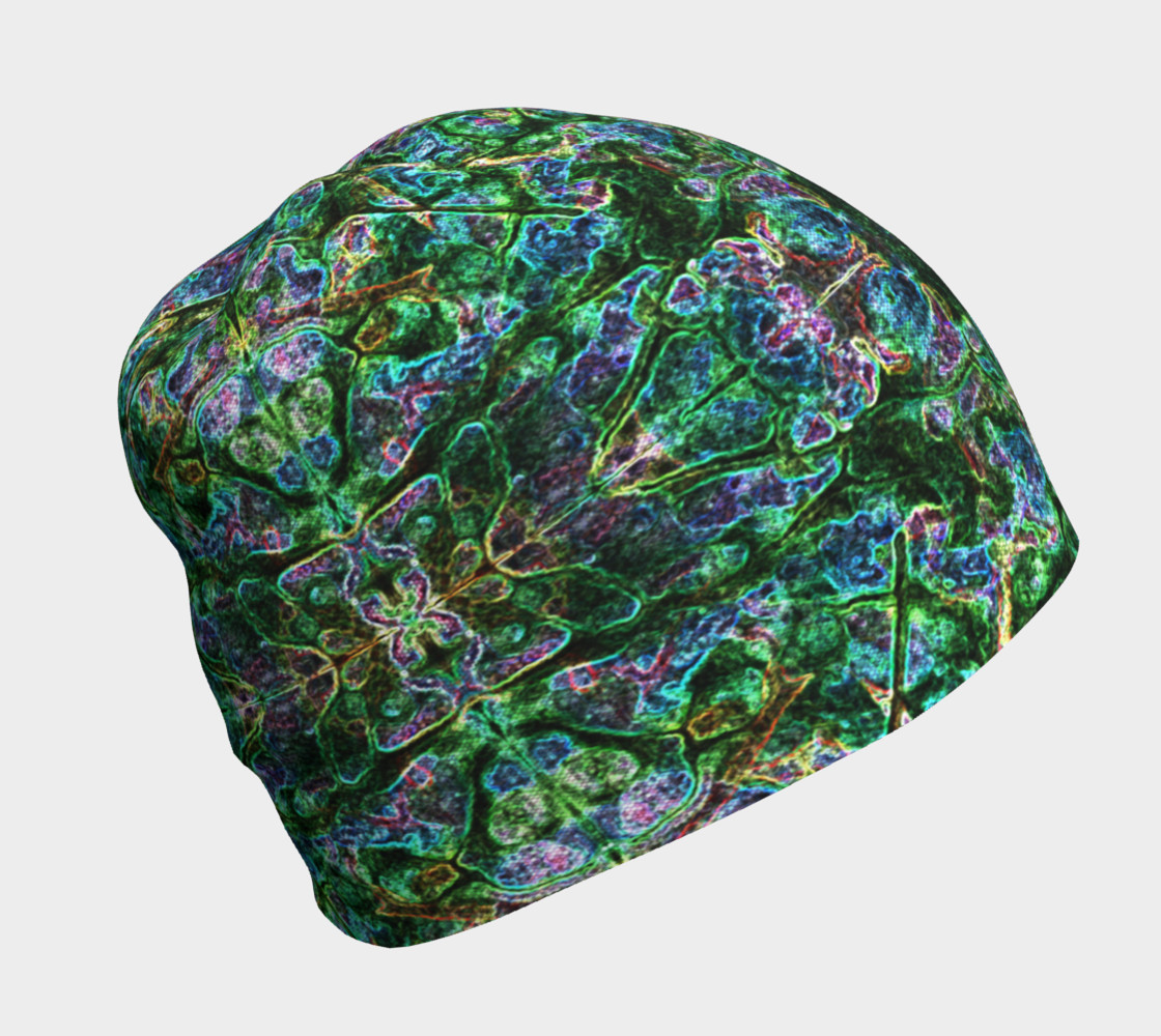 Emerald Gemstone Stained Glass Beanie preview #1
