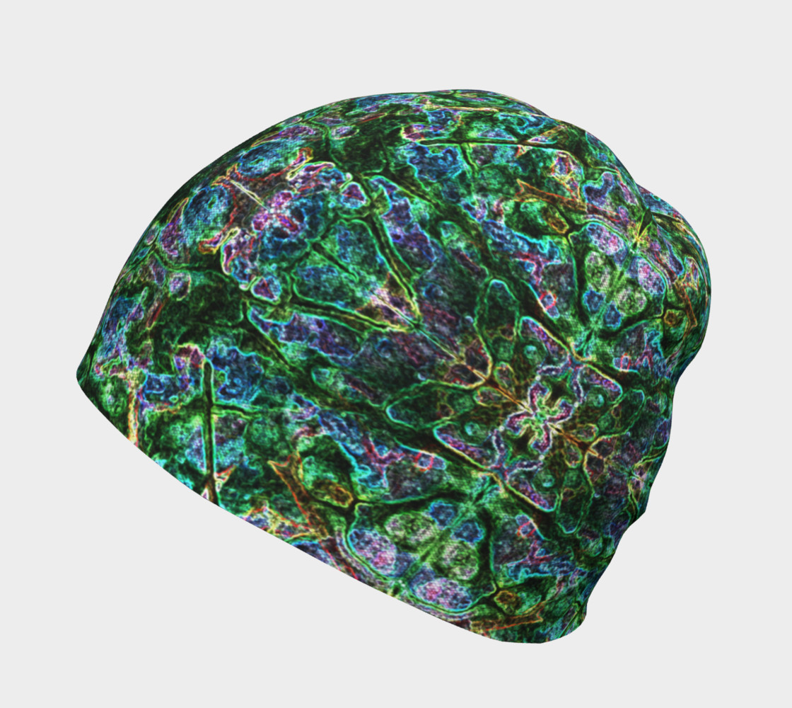 Emerald Gemstone Stained Glass Beanie preview #2