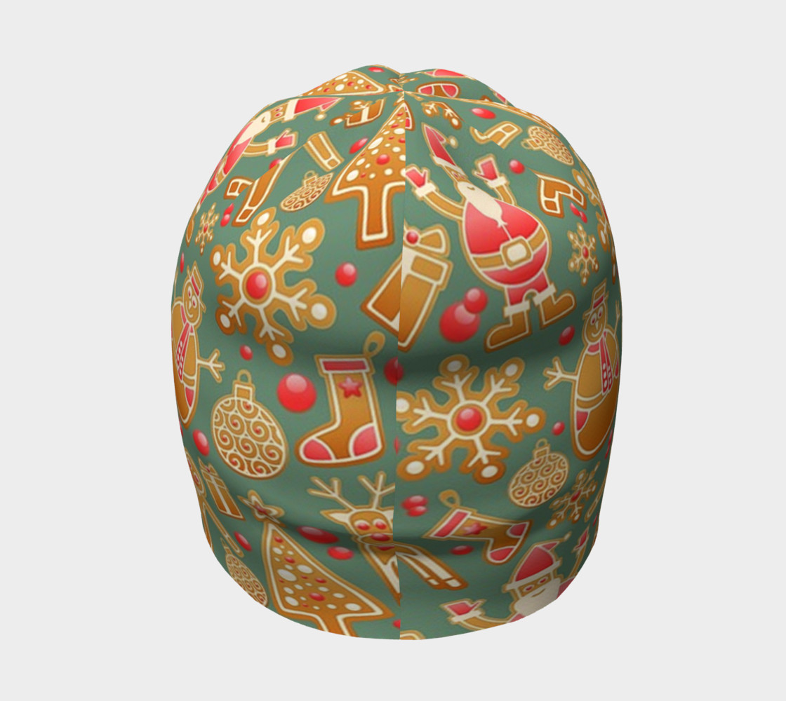 1950s Christmas Gingerbread beanie preview #4