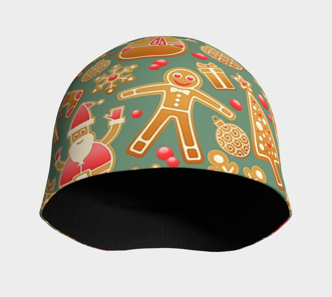 1950s Christmas Gingerbread beanie preview #3