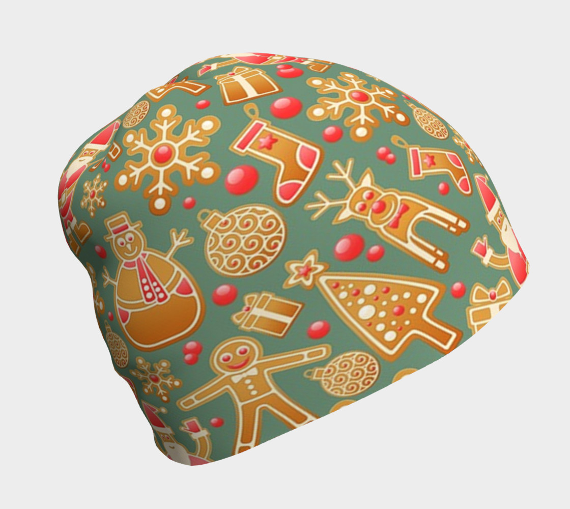 1950s Christmas Gingerbread beanie preview #1