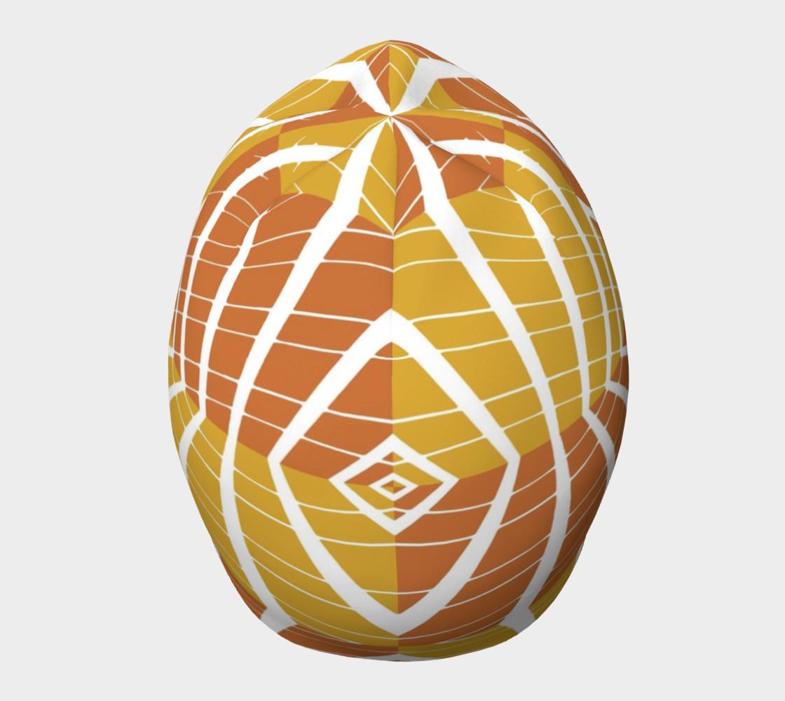 geometric pumpkin beanie preview #5