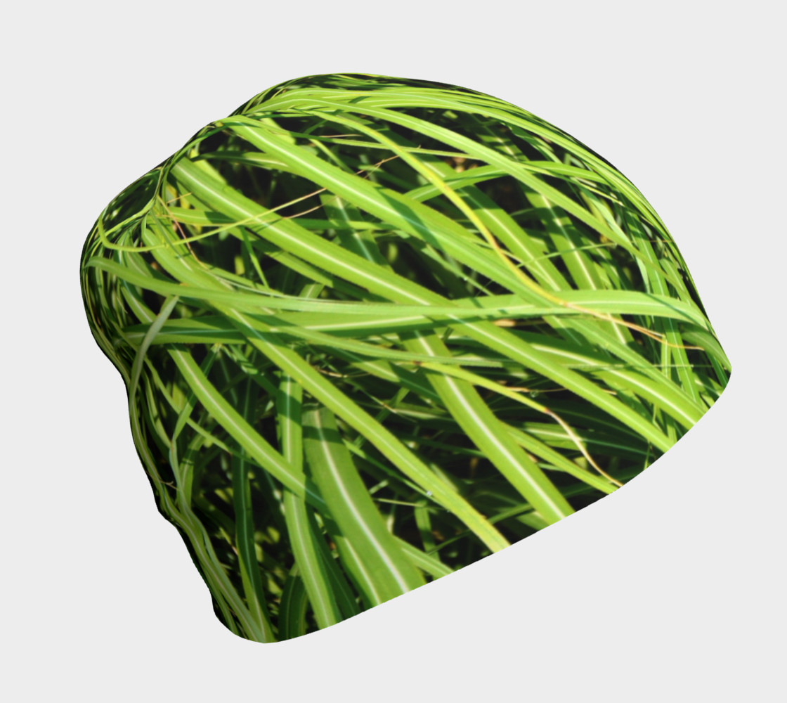 Grass camo beanie preview #1