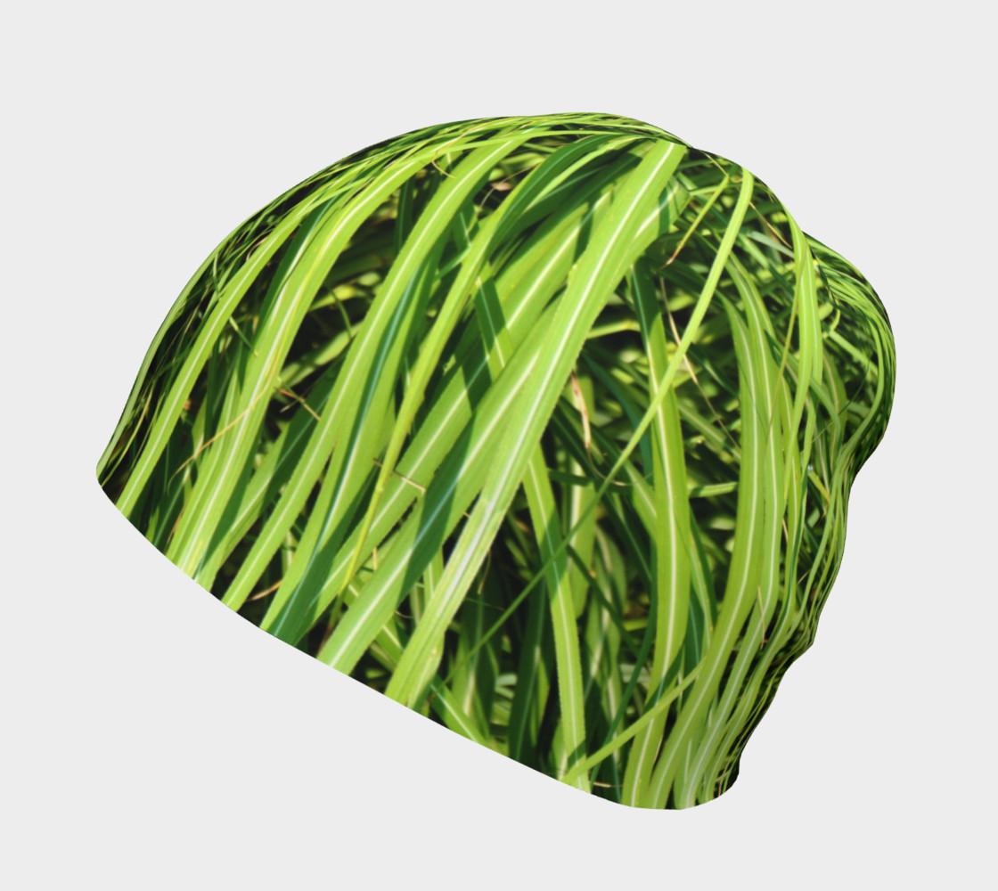 Grass camo beanie preview #2
