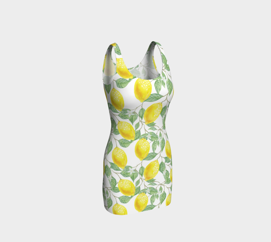 Life gives You Lemons Bodycon Dress preview #1