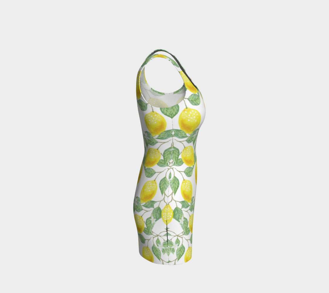 Life gives You Lemons Bodycon Dress preview #4