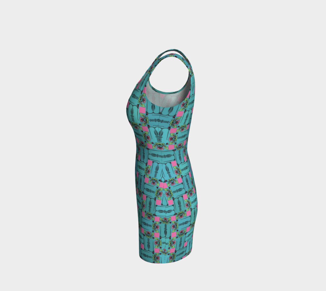 Charming Weave Bodycon Dress preview #2