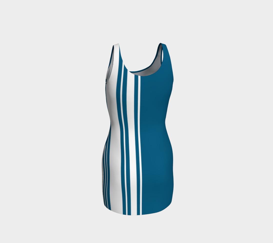 Aperçu de Egyptian Blue Stripes #3
