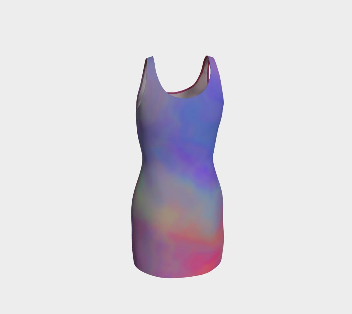 Aperçu de HEAVENLY HUES Bodycon Dress #3