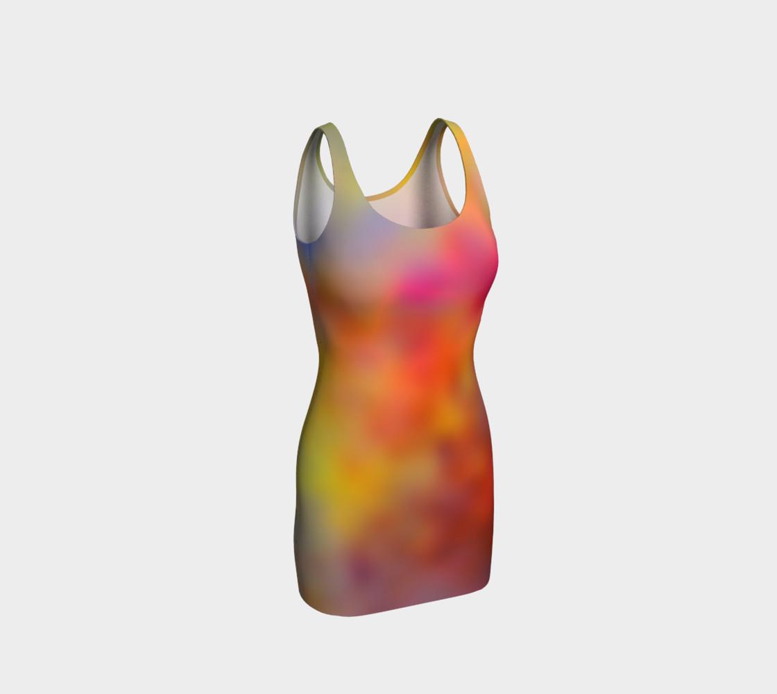 Aperçu de Blurred Vision Bodycon Dress #1