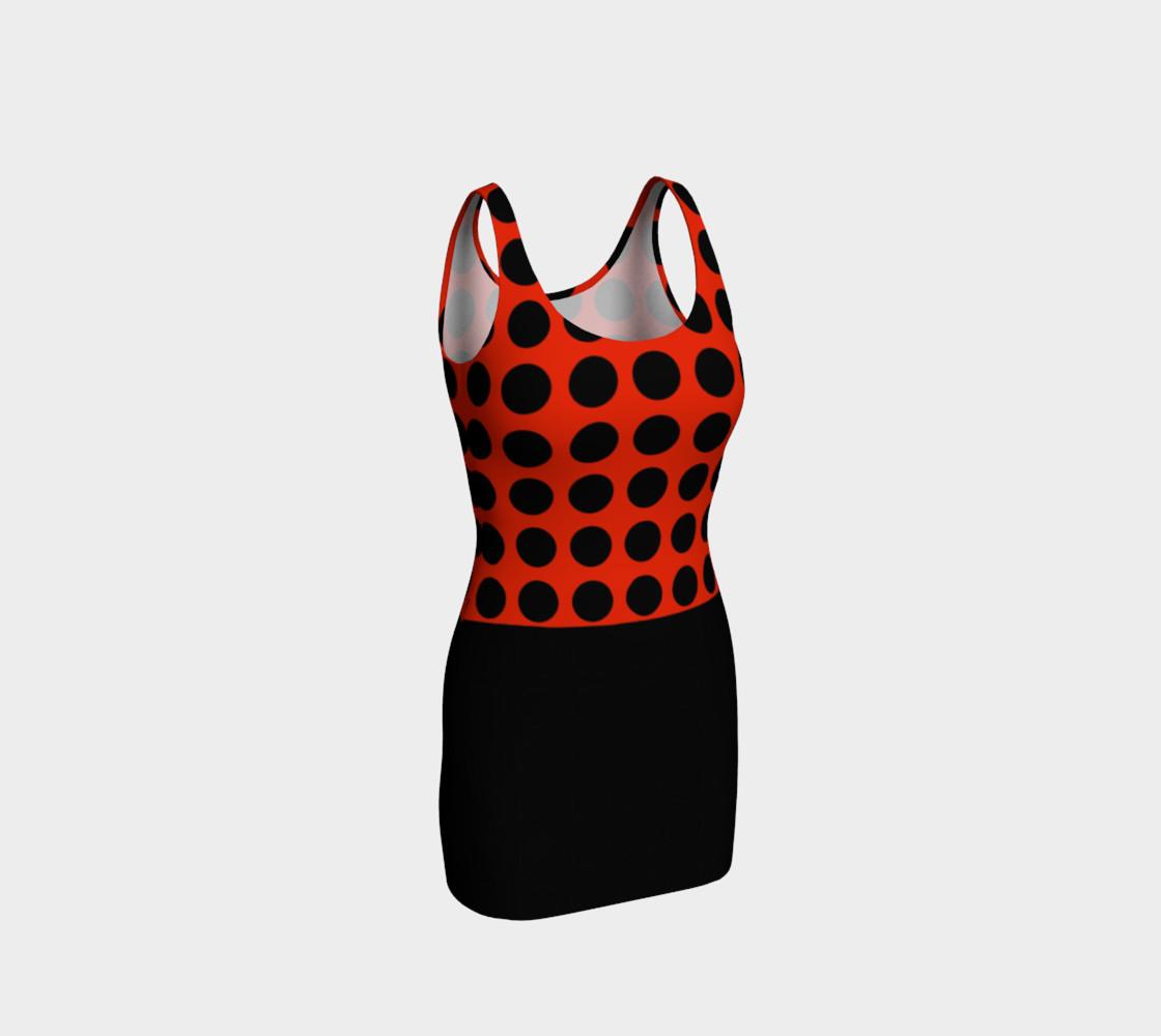 LADYBUG Bodycon Dress preview #1