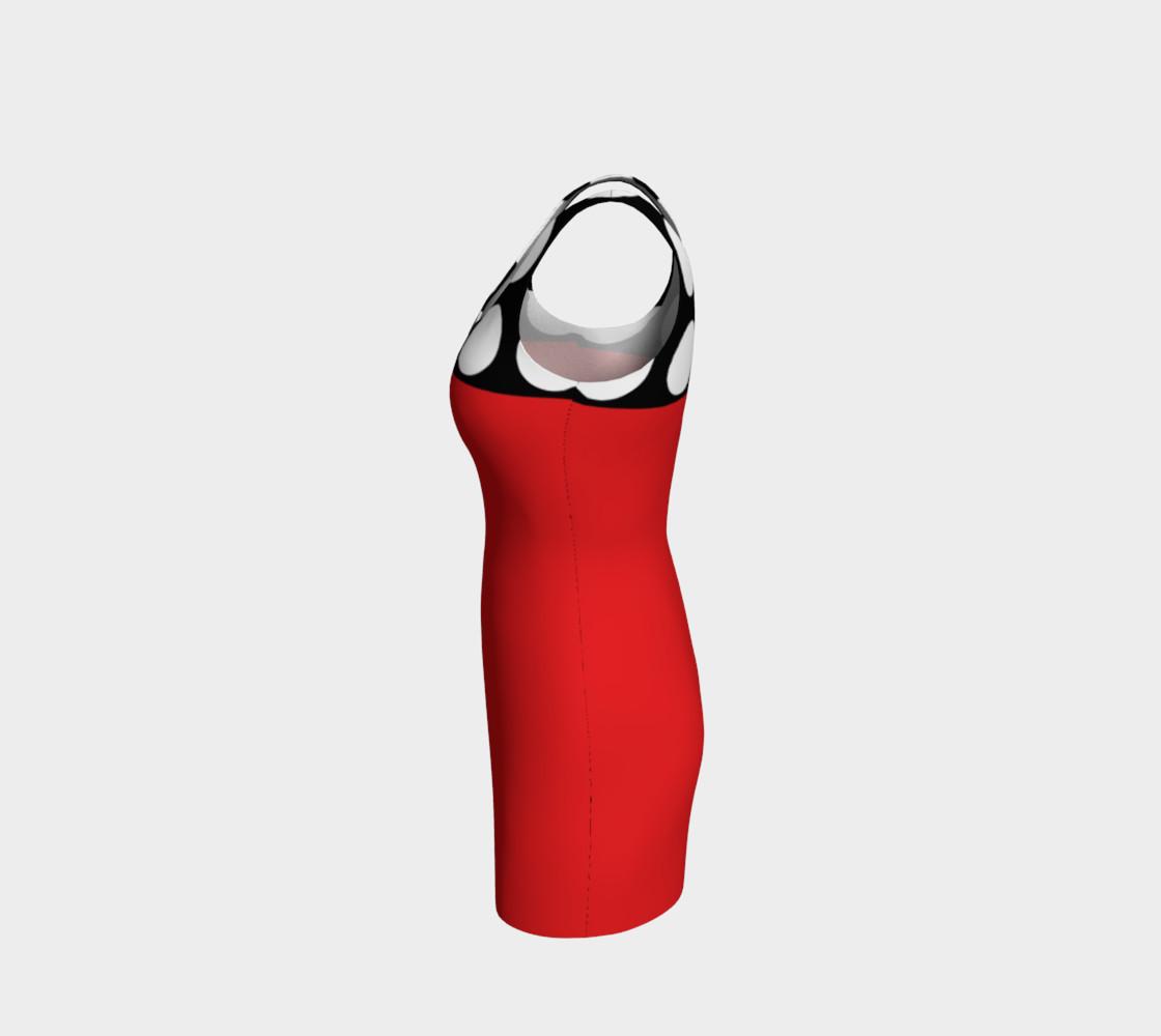 Aperçu de LADYBUG 2  Bodycon Dress #2