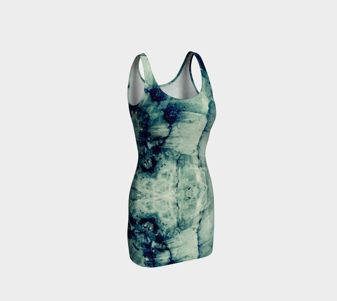 Lake art bodycon dress preview #1