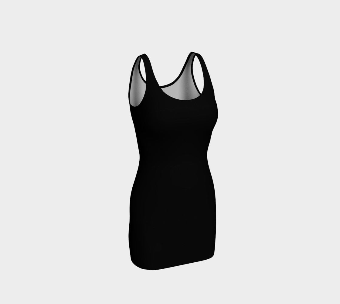 Charcoal | Bodycon Dress preview #1