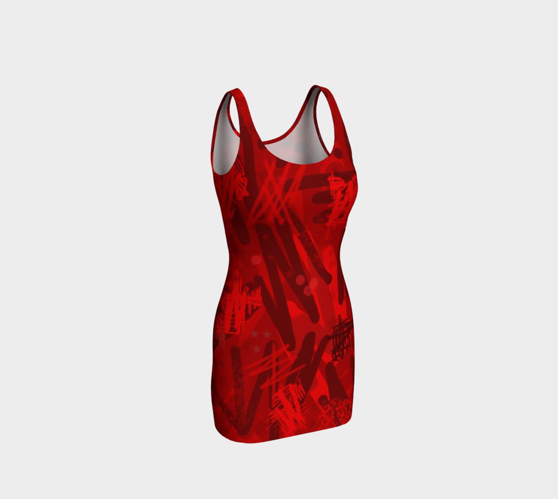 Aperçu de Abstract in red #1