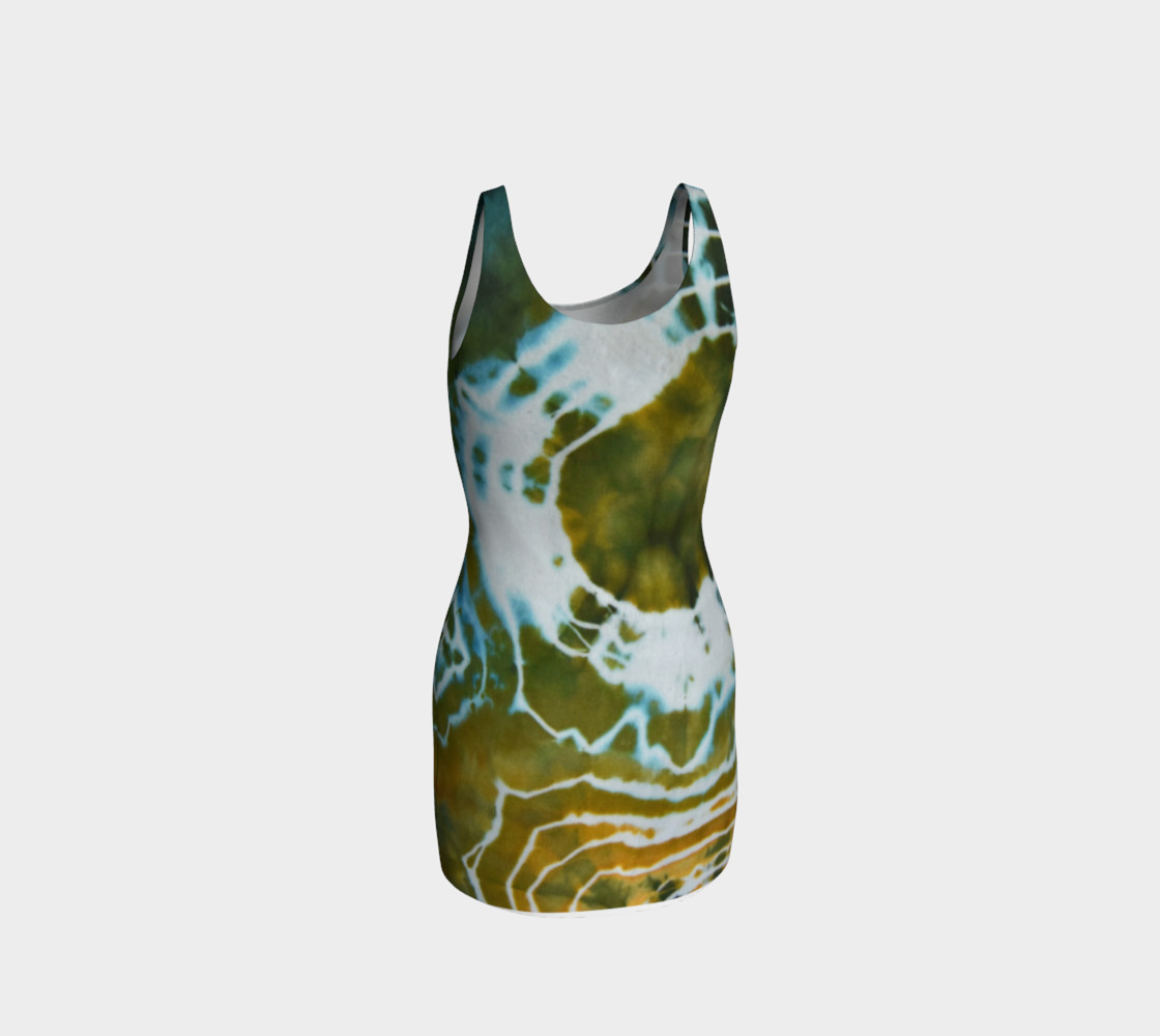 Green Geode Bodycon preview #3
