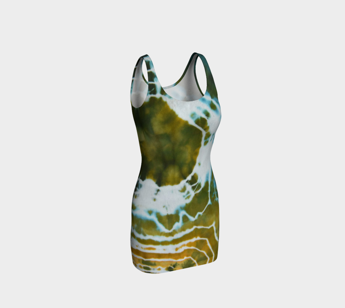 Green Geode Bodycon preview #1