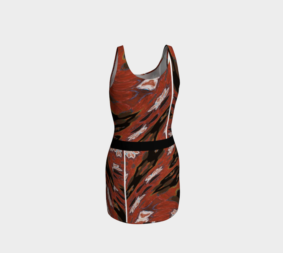Simone Says Double Slim Action Dress with Virtual Belt preview #3