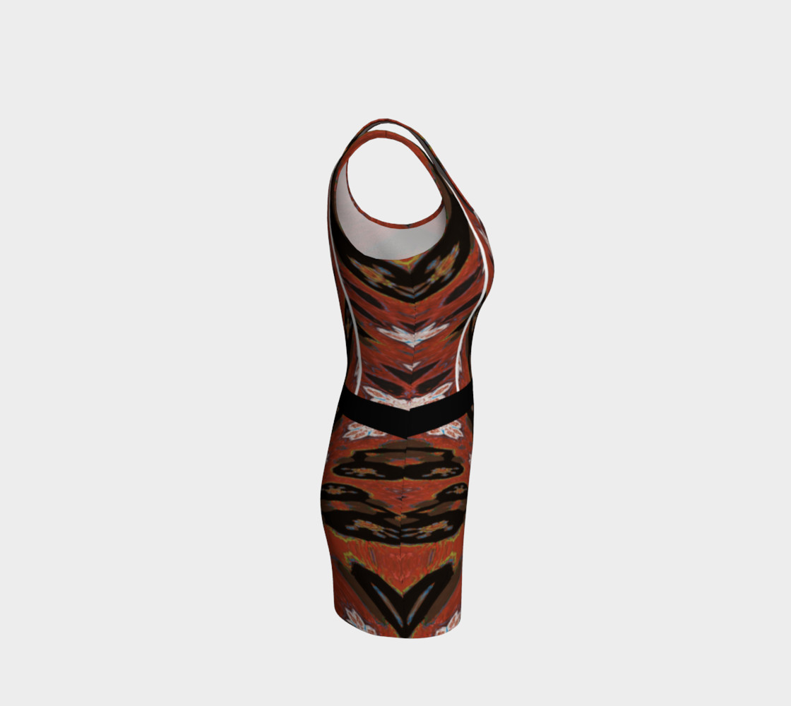 Simone Says Double Slim Action Dress with Virtual Belt preview #4
