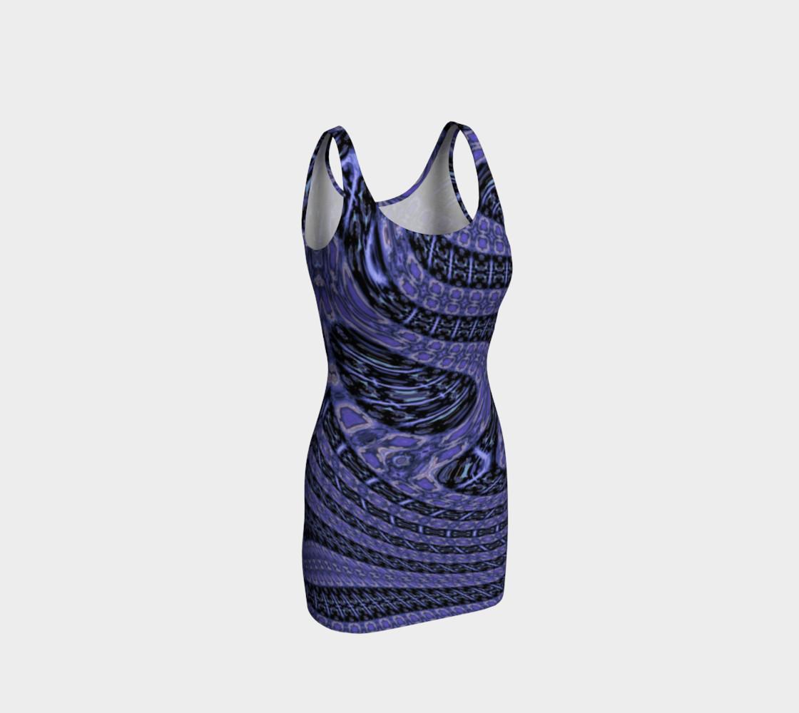 Aperçu de Purple Galaxy Bodycon #1