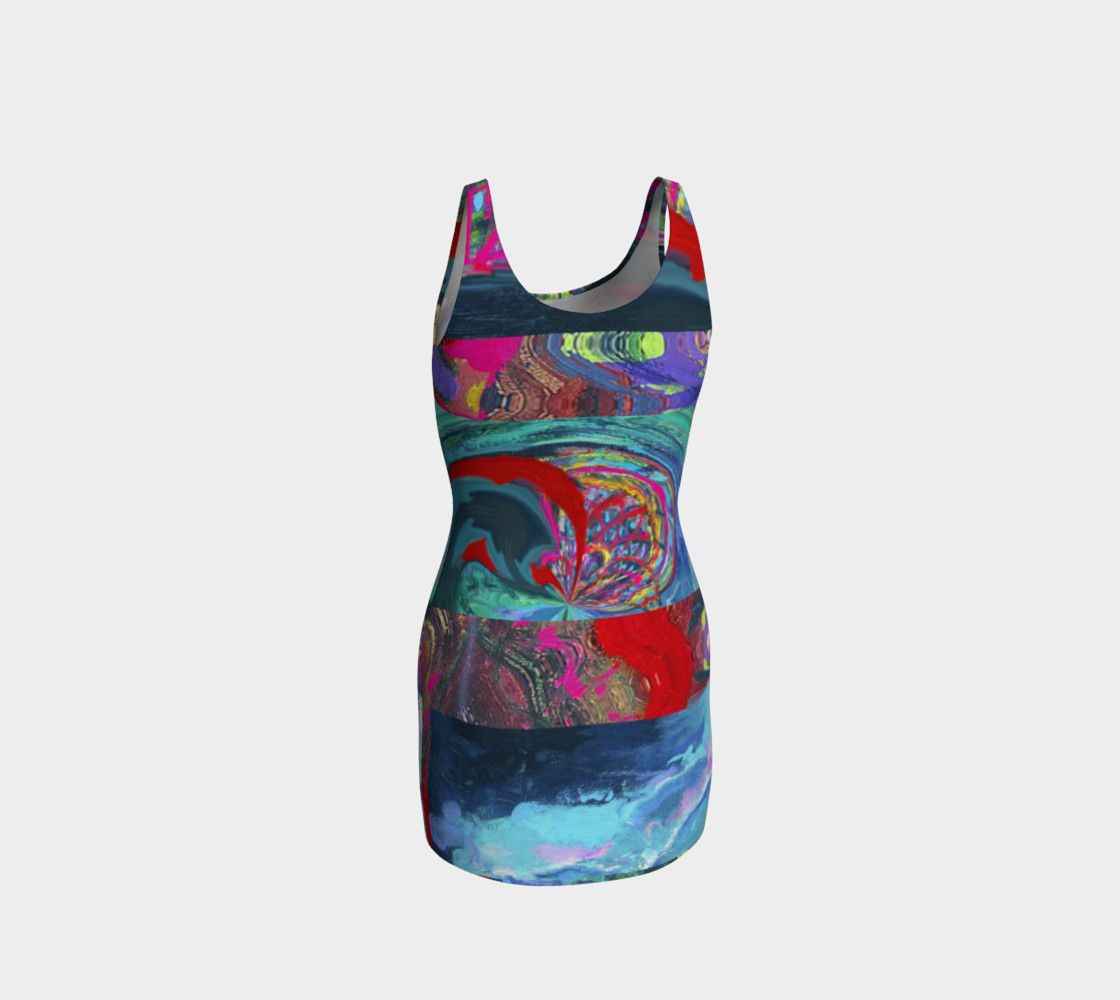 Roller Coaster Abstract Bodycon Parfait preview #3