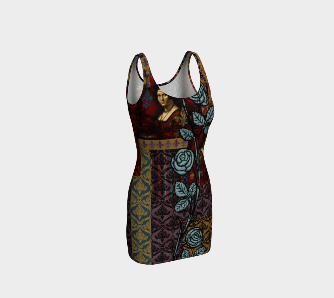 Aperçu de Roughly Royal da Vinci - Bodycon Dress #1