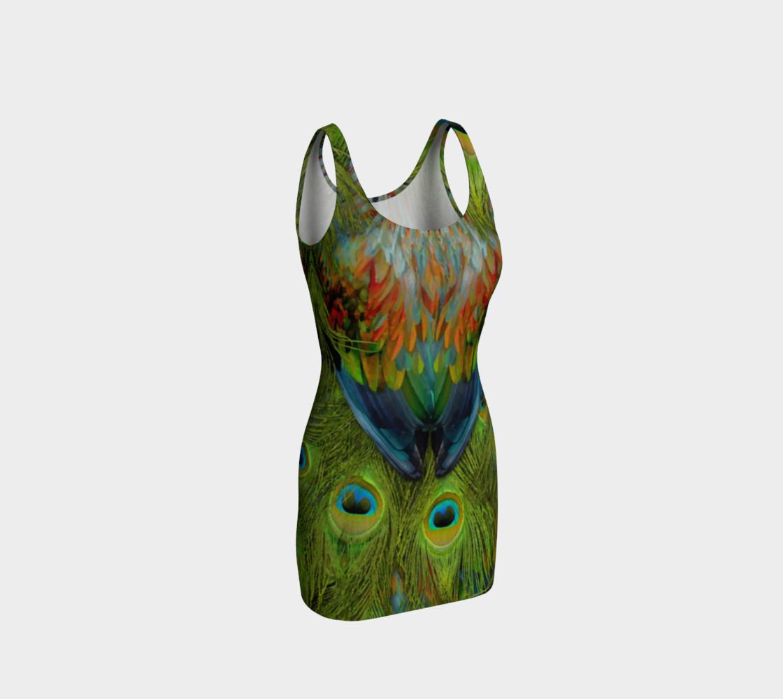 Aperçu de Nicobar-Peacock Fantasy Bodycon Dress 2 #1