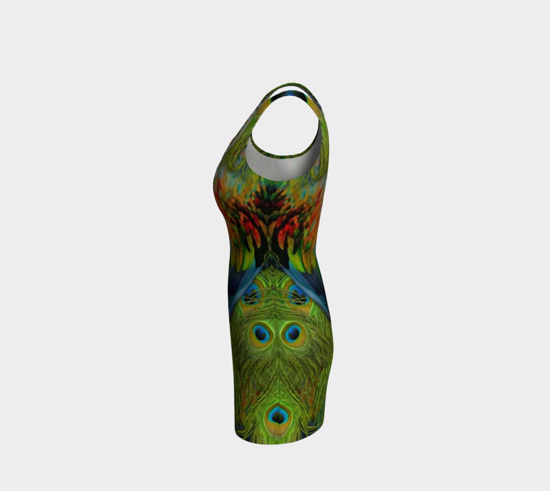Aperçu de Nicobar-Peacock Fantasy Bodycon Dress 2 #2