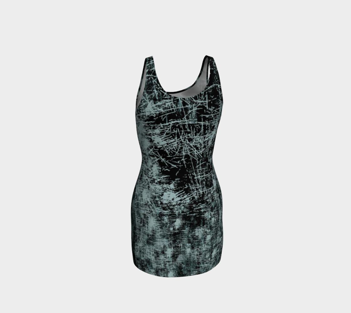 Aperçu de Black Widow Heart Horror Print Dress by Tabz Jones  #3