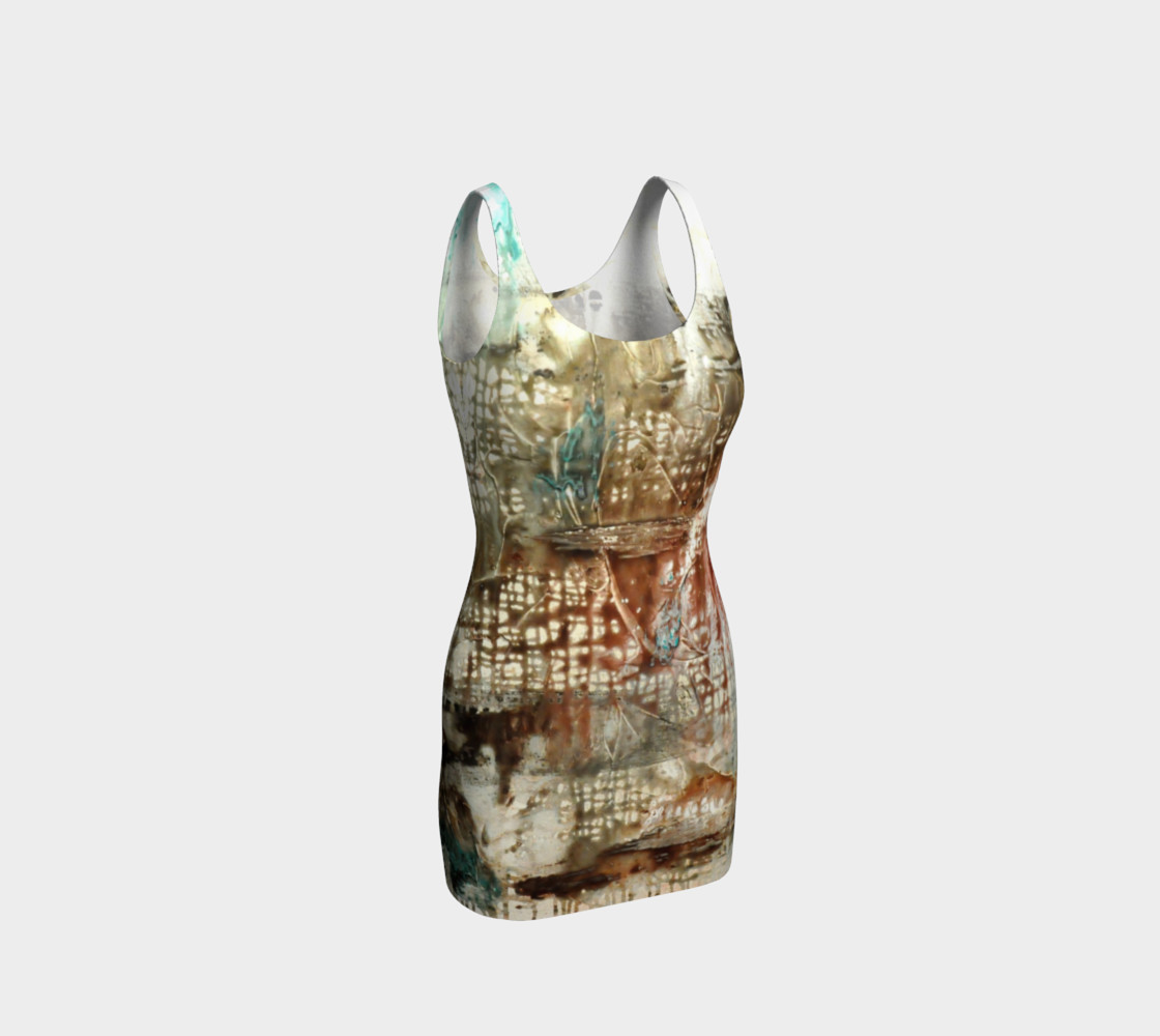 Aperçu 3D de Matt LeBlanc Art Bodycon Dress - 003
