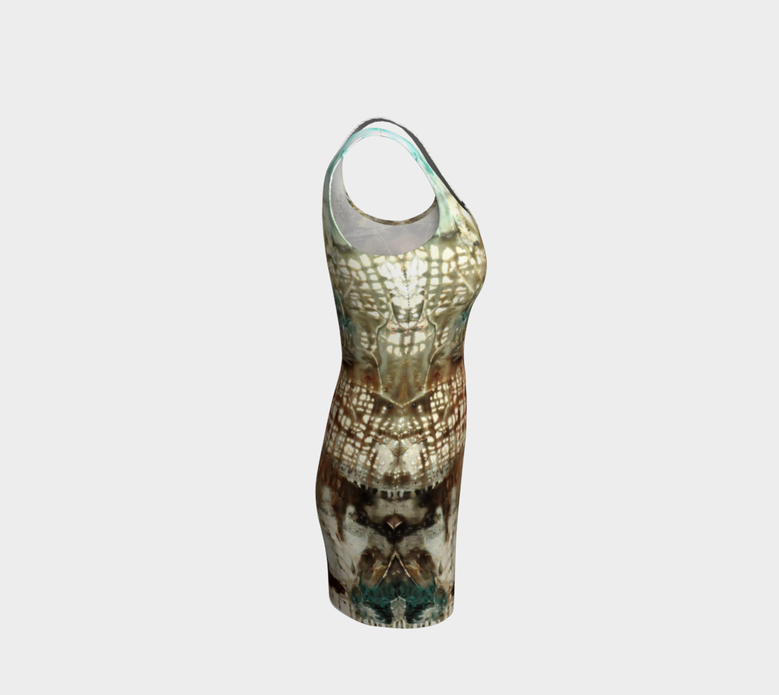Matt LeBlanc Art Bodycon Dress - 003 Miniature #5