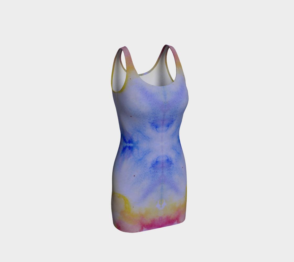 Watercolor Rainbow Bodycon preview #1
