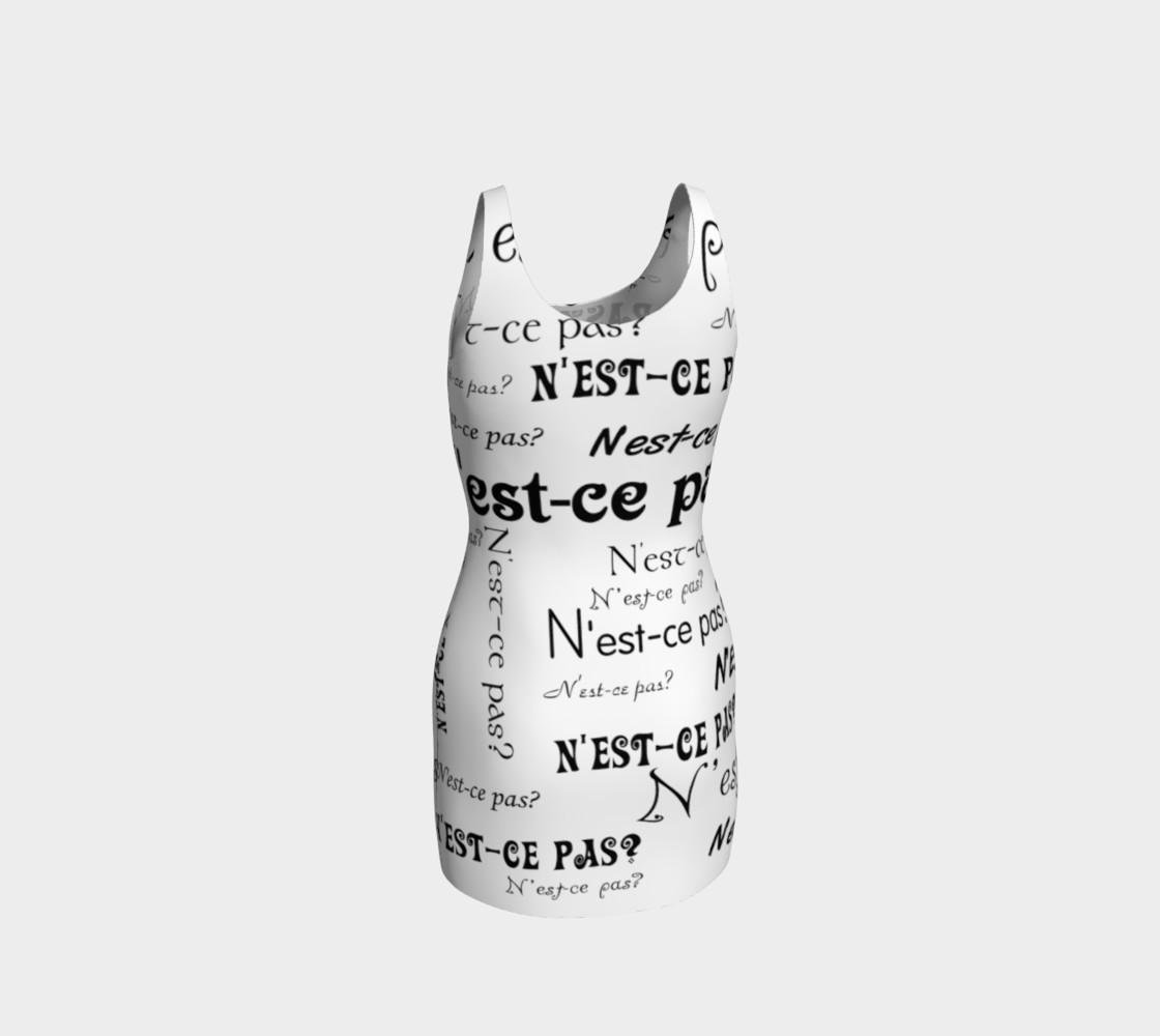 N'est-ce Pas Bodycon Dress preview #3