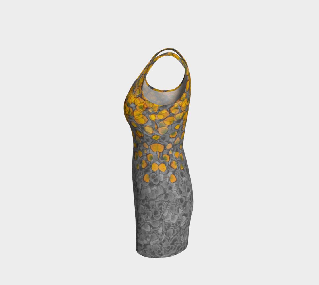 Aspen Leaves Bodycon Dress preview #2