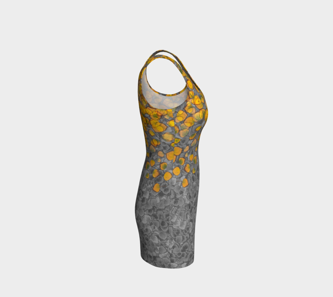 Aspen Leaves Bodycon Dress preview #4
