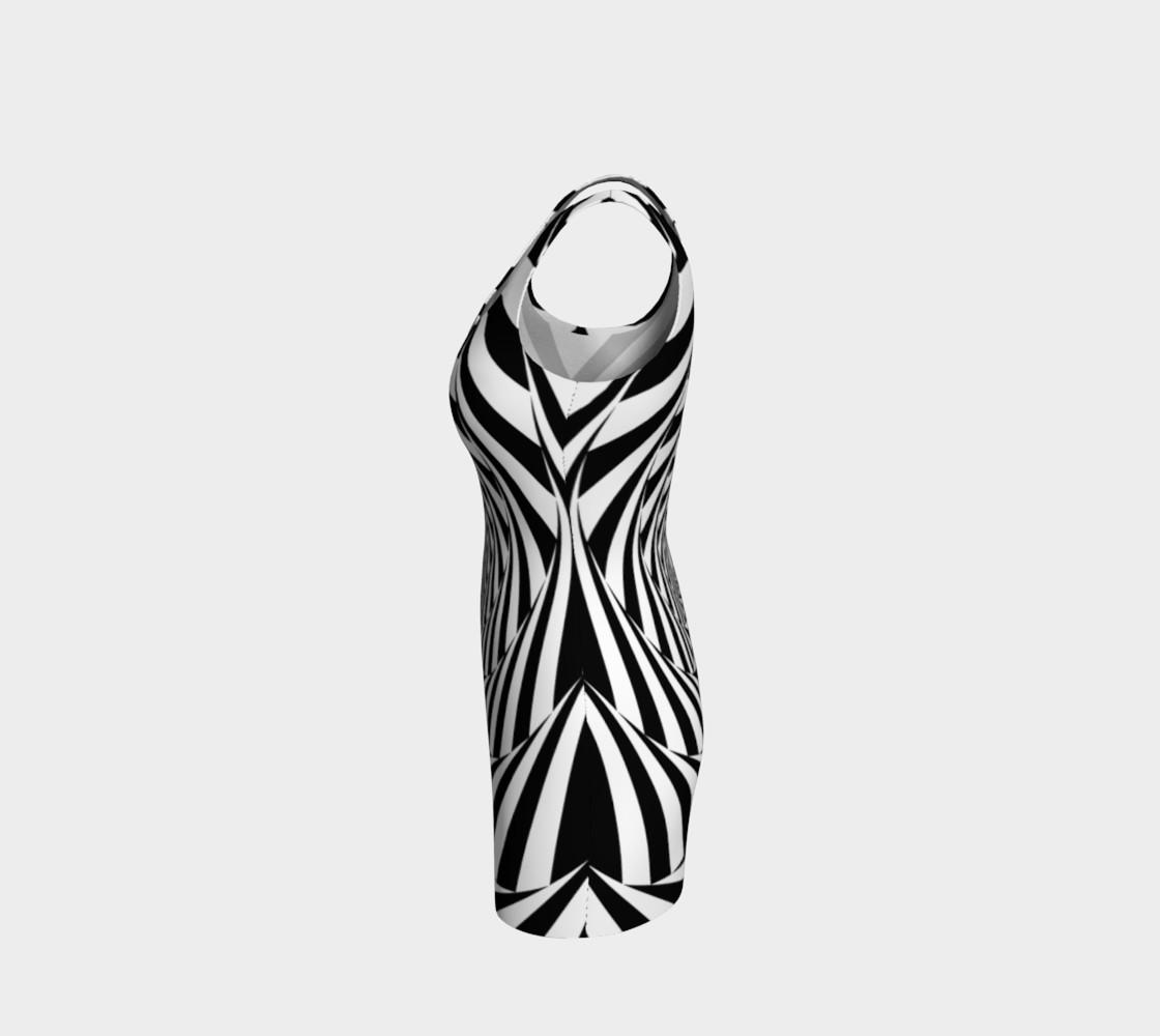 Hypnotic Bodycon Dress preview #2