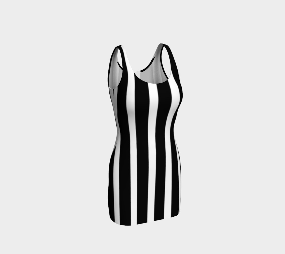 All Striped Out Bodycon Dress by JoJo (1170002-B) preview #1