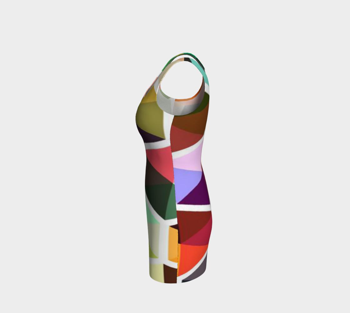 Aperçu de Rainbow Honeycomb Bodycon Dress by JoJo (1170010-B) #2
