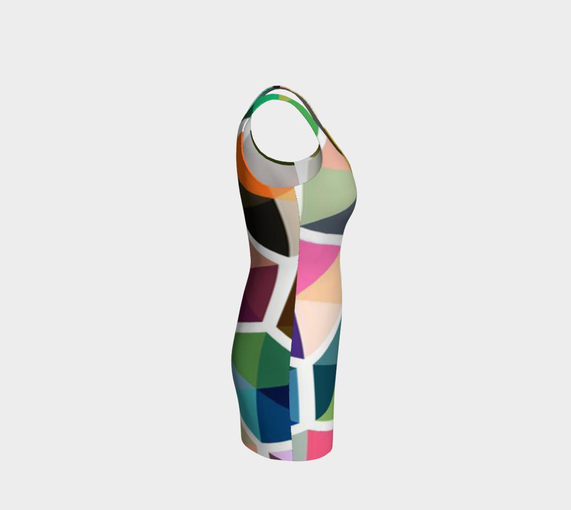 Aperçu de Rainbow Honeycomb Bodycon Dress by JoJo (1170010-B) #4