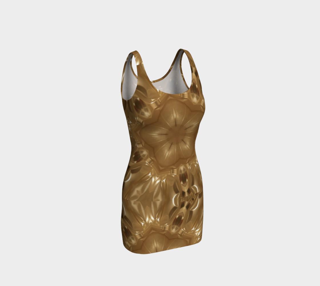 Elegant Gold Brown Shimmering Star preview #1