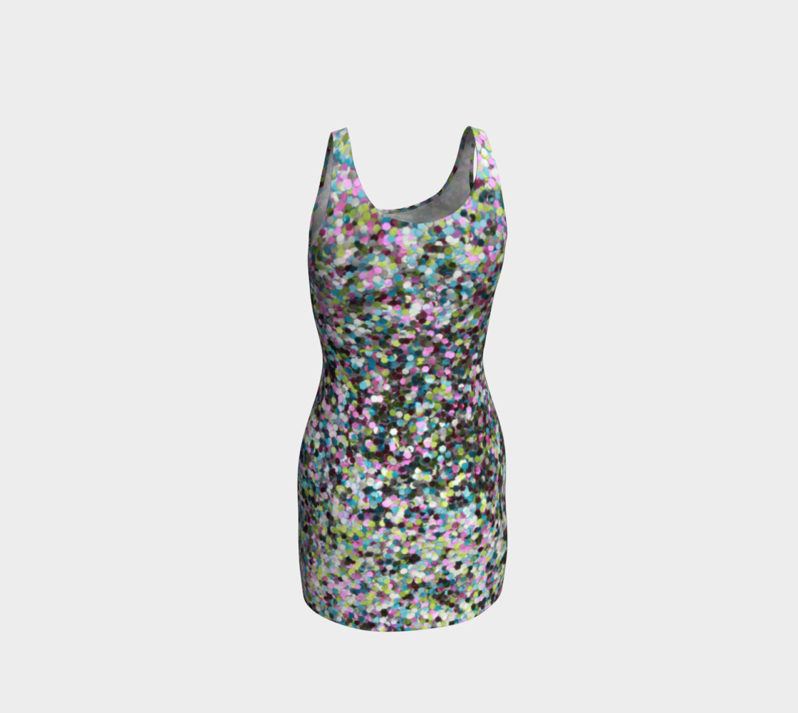 Bodycon Dress Glitters preview #3