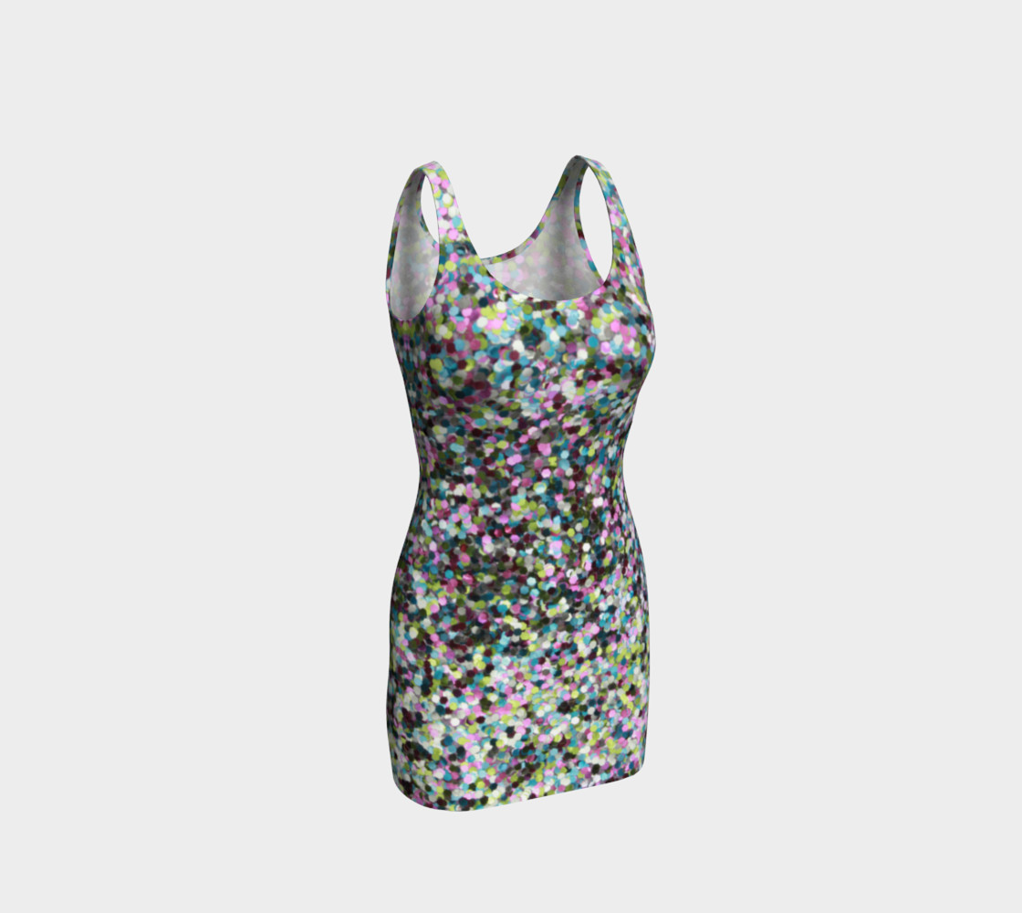 Bodycon Dress Glitters preview #1