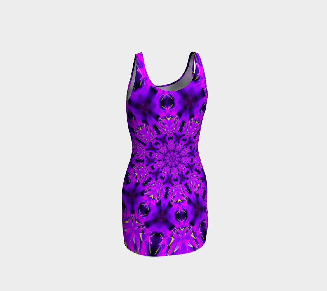 Purple Mandala Tank Dress preview #3