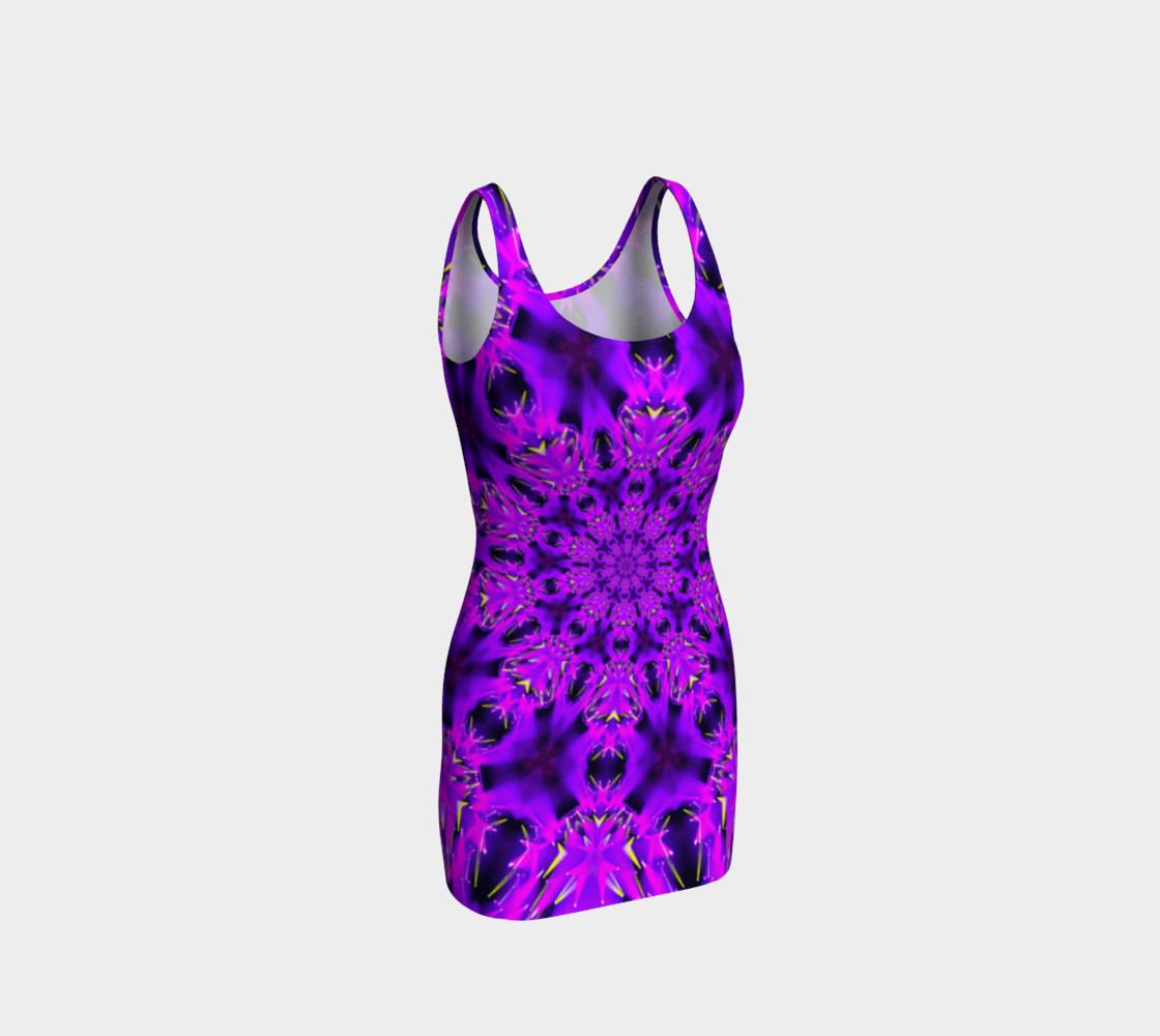Purple Mandala Tank Dress preview #1