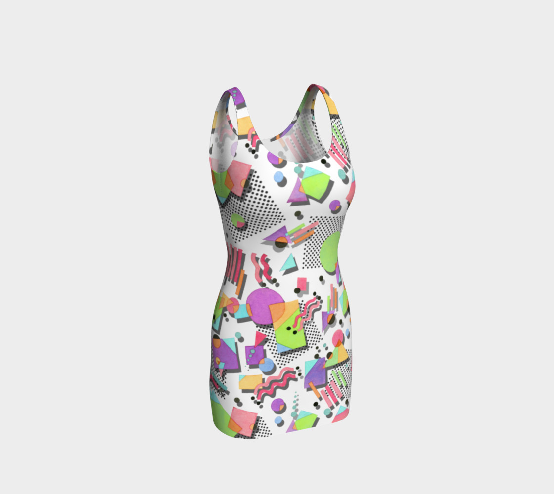 Aperçu de Rad Nineties Bodycon Dress #1