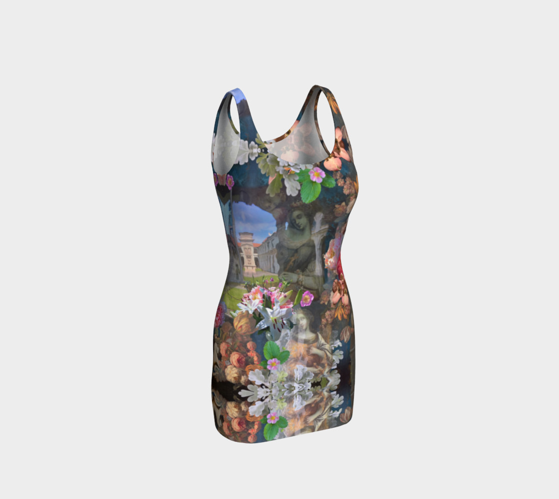 Flowers of the Loreta 1 Bodycon Dress Miniature #2