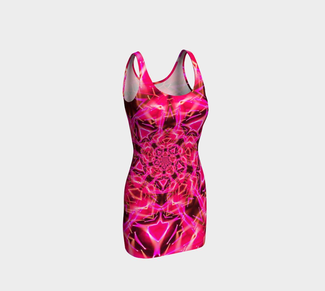 Shocks My Brain Pink Tank Dress preview #1
