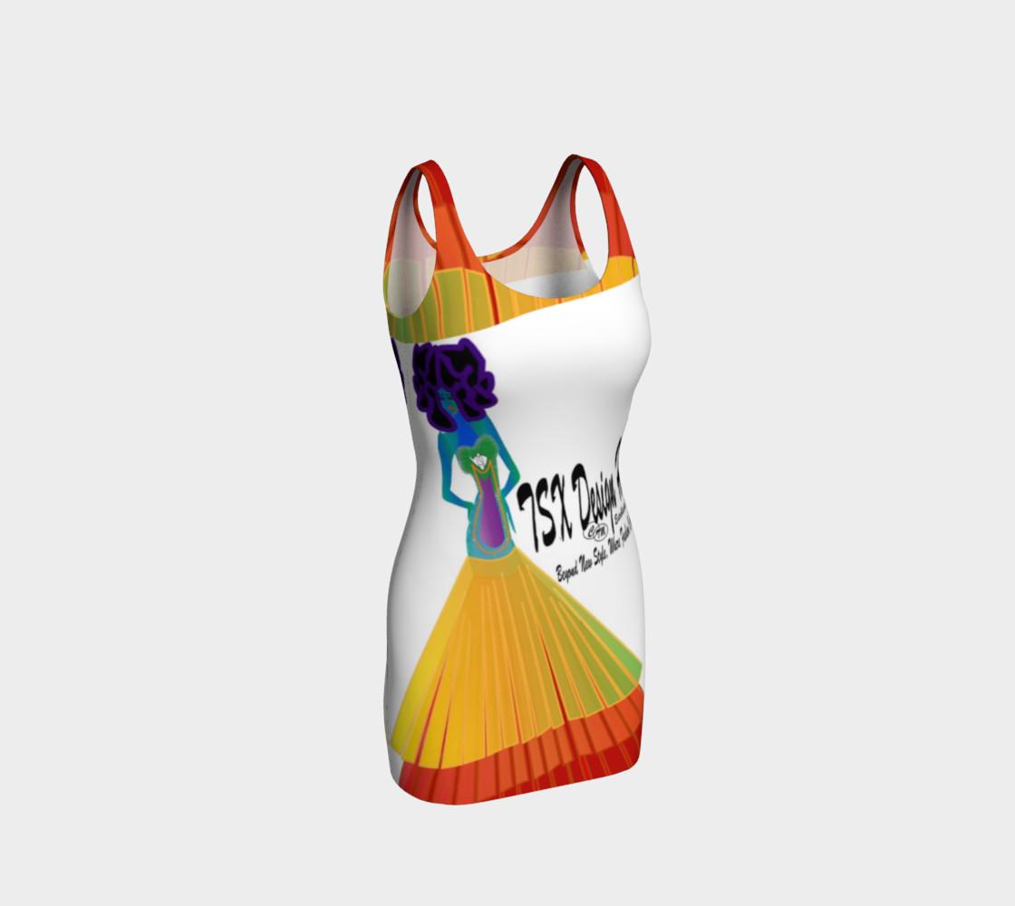 TSXDH Logo Bodycon Dress preview #1