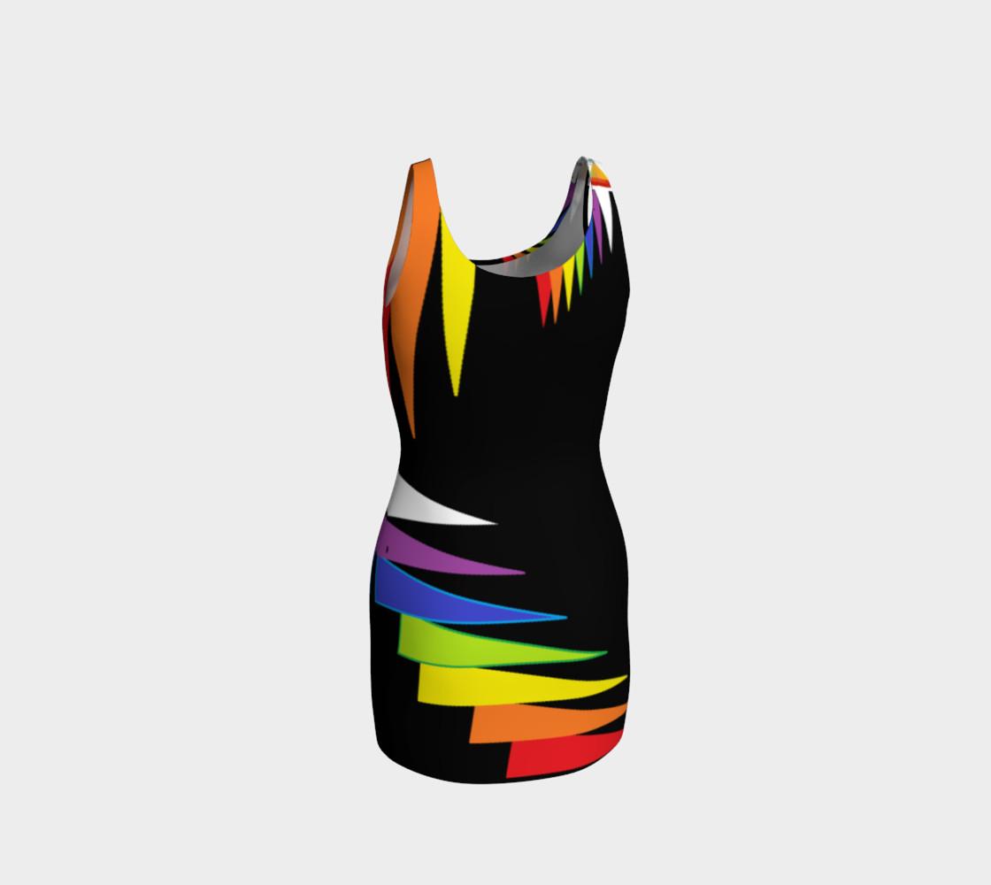 Chakras Bodycon dress preview #3